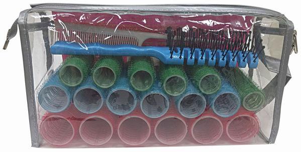 סט רולים נדבקים בגדלים שונים (18 יח' בסט)