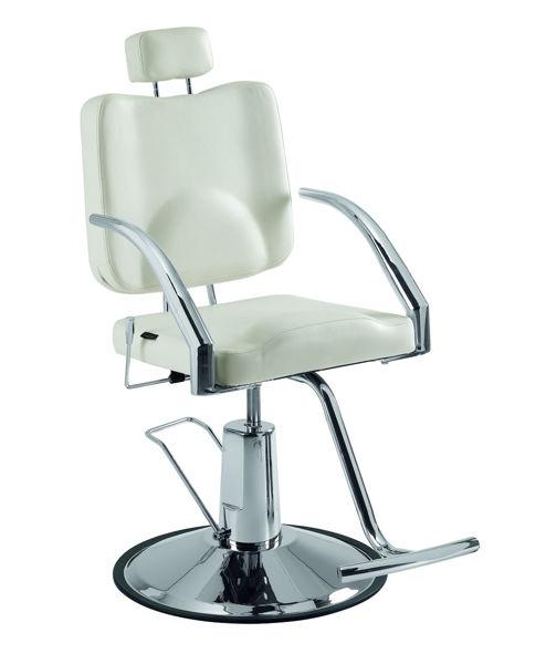 כסא למספרה ולאיפור לוק שחור/לבן