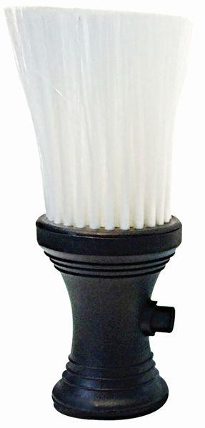 מברשת ניקוי צוואר- טלק שחורה