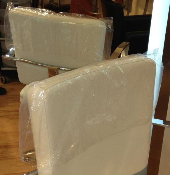 מגן ניילון לגב כיסא (50 יח' במארז)
