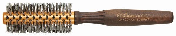מברשת אקו טרמל 20 שיער רך