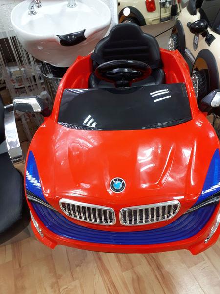 מכונית פרארי BMW אדומה 102WD