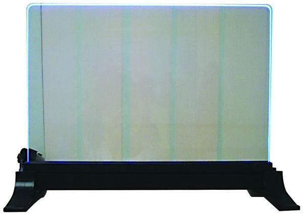 שלט שולחני מואר גדול LED