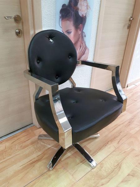 כיסא מרלן שחור-WD629