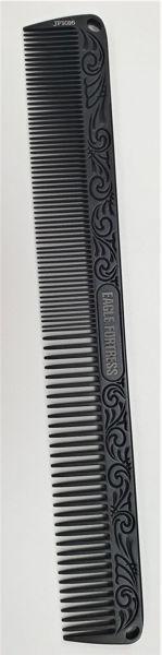 מסרק שחור אלומניום - מתכתי ארוך