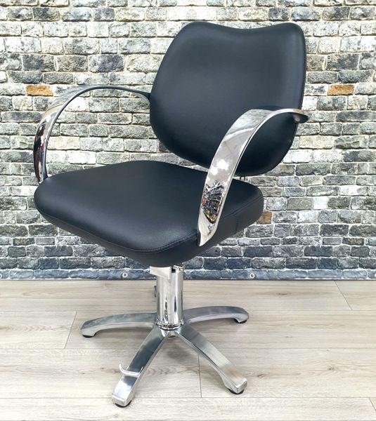 כיסא הידראלי גניפר שחור